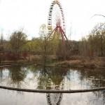 Riesenrad und Seebühne